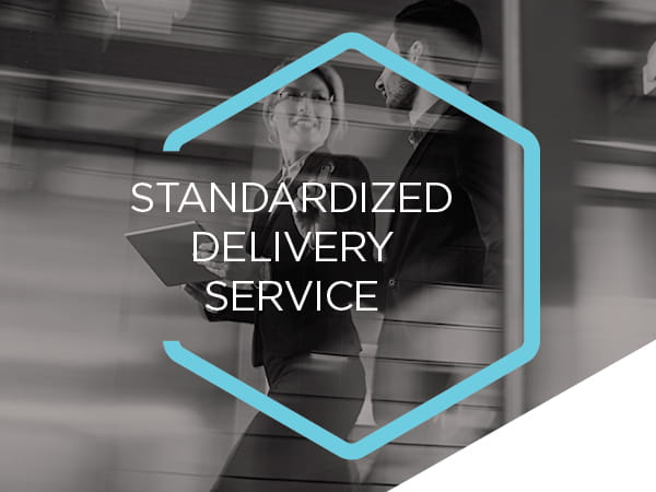 Standardized delivery