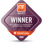 FTF best middle-to-back-office integration solution