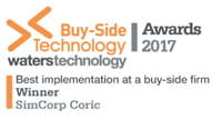 Best implementation at a buy-side firm 2017
