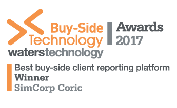 Buy Side Technology Award reporting Logo
