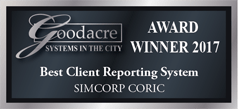 Goodacre 2017 best client reporting system