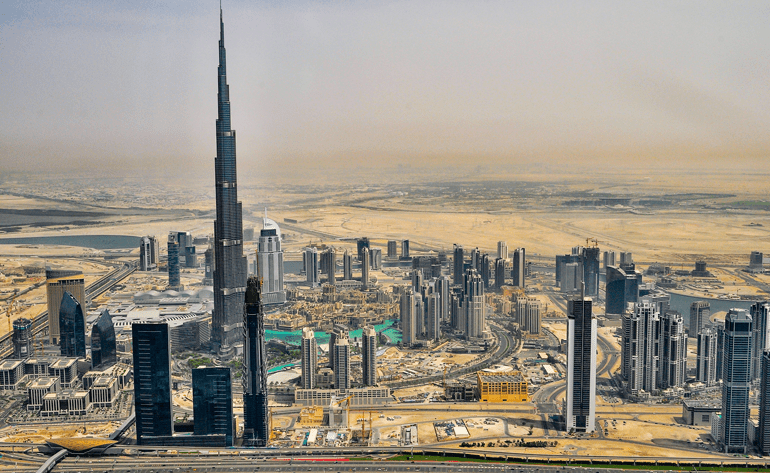 Image of Dubai skyline