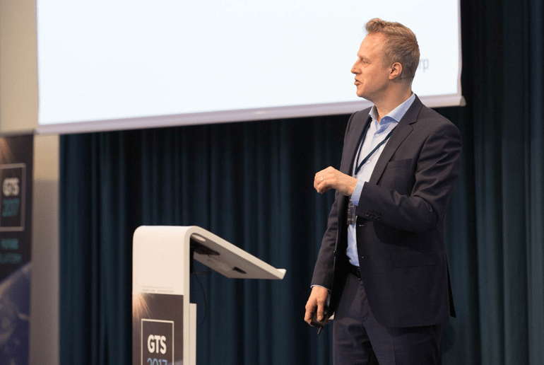 Anders Kirkeby speaker at SimCorp's GTS 2017