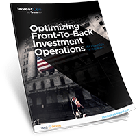 Optimizing Front-to-Back Investment Operations
