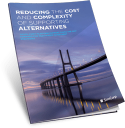 Supporting Alternative investments paper